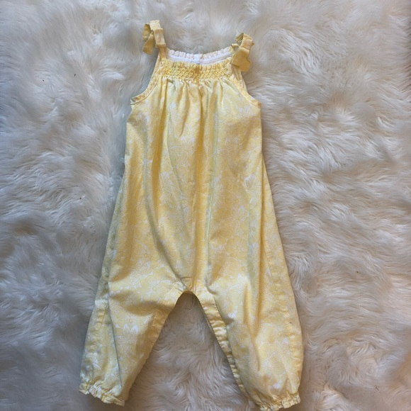 Janie and Jack Other - Janie and Jack yellow romper